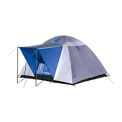 Hosa Tienda de campaña Aran 4 - Tienda Familiar Iglú para 4 Personas Impermeable 3 Estaciones Ligera y Resistente de Camping