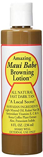 Maui Babe Browning Lotion Ingredients