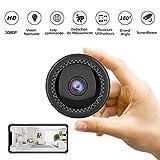 📷 [Cámara HD 1080p]: Puede seleccionar vídeo Full HD 1920 * 1080p, 1080p / 720p / 640p / 320p. Soporta TF tarjeta 4-128G. Con montaje magnético para locaciones donde quieras. El tamaño compacto y pequeño también es portátil y fácil de llevar. 📷 [IR V...