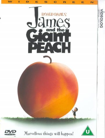 James & The Giant Peach DVD [1996]