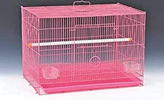 """15"""" Bird cage for Budgies,Finches,Love Birds,Cocktails,Conures,Cuttlefish Bone Holder,with Cuttlefish Bone, 2 Cups , 1 Per..."""