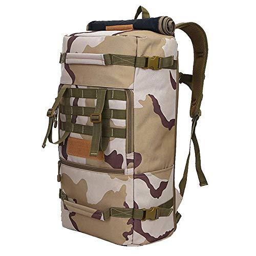 Wanderrucksack Yuan Ou Militär Nylon Rucksack Herren Taschen Reisesport Rucksäcke Taktische Umhängetasche Sandcamouflage