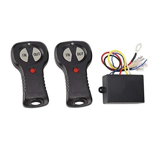 Universal Winch Controller, 1 Paar 12V Wireless Winch Remote Control Controller Kit für PKW