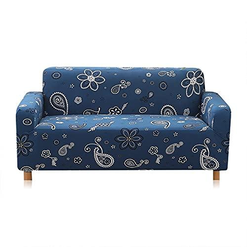 WXQY Funda elástica para Muebles Funda elástica para sofá, Funda para Asiento de sofá para Sala de Estar, Funda Protectora para Muebles Funda para sofá A14 1 Plaza