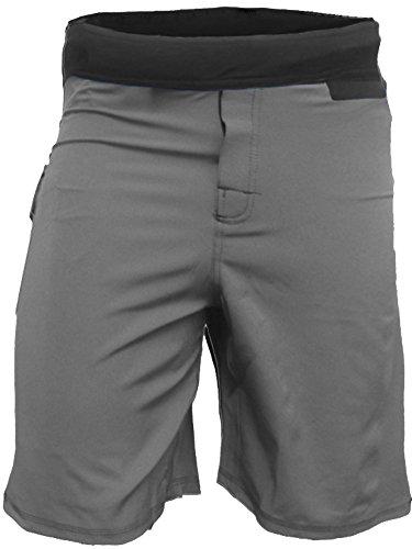 Epic MMA Gear WOD Shorts for Men Agility 4.0 (34, Grey)