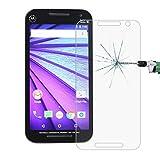Yiki Für Motorola Moto G (3. Generation) 0,26 mm 9H + Oberflächenhärte 2,5 D Gute explosionsgeschützte gehärtete Glasfolie