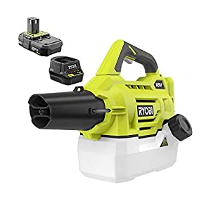 ONE+ 18-Volt Lithium-Ion Cordless Fogger/Mister with 2.0 Ah Battery and Charger Included - P2850 - (Bulk Packaged, Non-Retail Packaging)