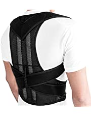 Honorall Posture Corrector for Men Women Back Brace Adjustable Straps Shoulder Support Trainer