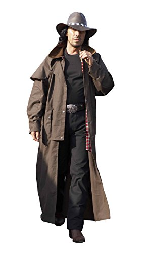 & stars stripes Duster Trail Brown