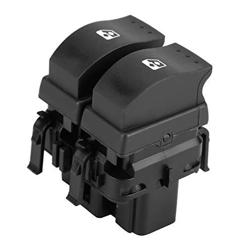 Akozon Interruptor de Ventana Eléctrica Panel de Interruptores de Control de Espejo de Ventana de Power Master OE: 8200060045 para REN-Ault Megane MK2 2003-2009