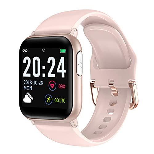 Smart Watch V6 Impermeable Sport Tracker Ritmo Cardíaco Presión Arterial Apoyo Bluetooth Wearable para Android iOS Teléfono,E