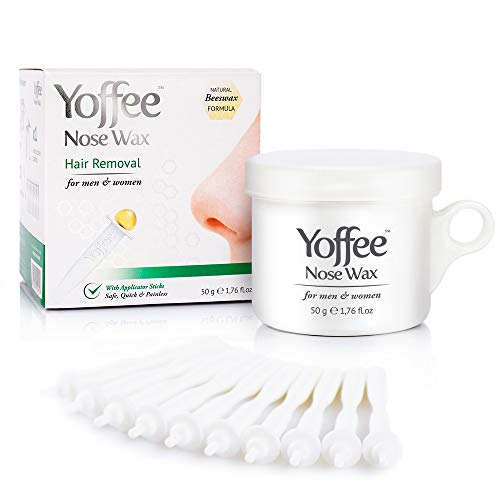 Yoffee Nose Wax, kit Original cera aplicadores - Depilación