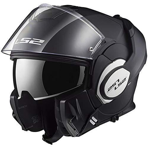 LS2 FF399 Valiant Convert DVS - Casco de moto con apertura frontal