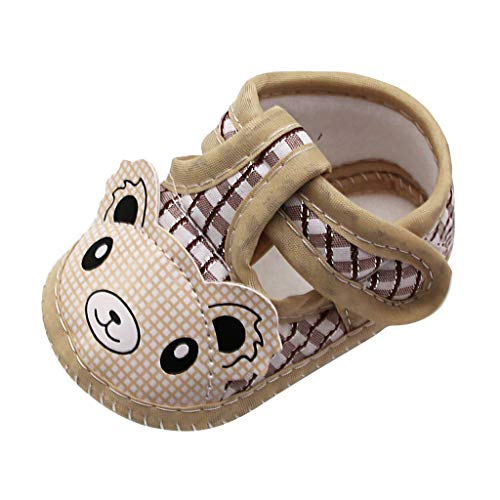LIJUCH Infant Toddler Baby Soft Sole Moccasinss Crib Shoes Newborn Infant First Warm Walking Shoes Halloween