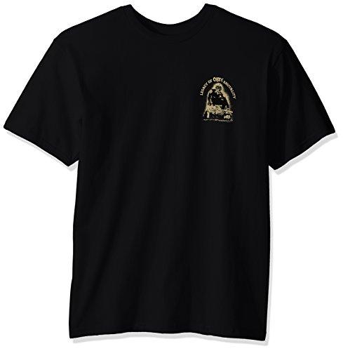 Obey Herren Legacy of Brutality Regular Fit T-Shirt - Schwarz - Klein