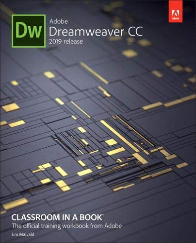 Adobe Dreamweaver CC Classroom in a Book 2019