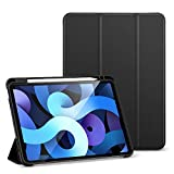ESR Funda Folio para iPad Air 4 (2020) 10,9 Pulgadas [Soporte Pencil] [Funda Blanda Flexib...