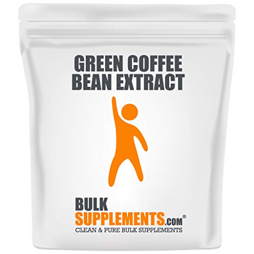 BulkSupplements.com Green Coffee Bean Powder - Green Coffee Bean Extract for Weight Management (100 Grams)