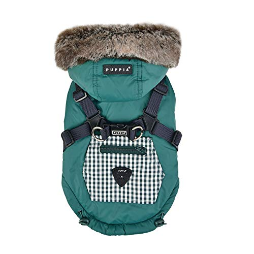 Puppia Bellamy Khaki XL Mantel Windjacke Wasserdicht Winter für Hunde - 3170 g