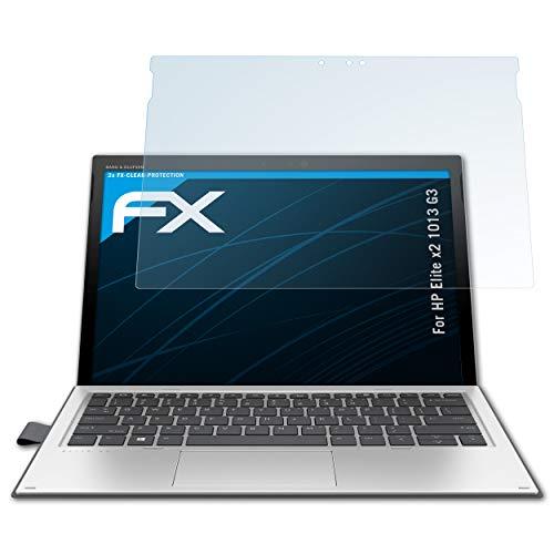 atFolix Schutzfolie kompatibel mit HP Elite x2 1013 G3 Folie, ultraklare FX Bildschirmschutzfolie (2X)