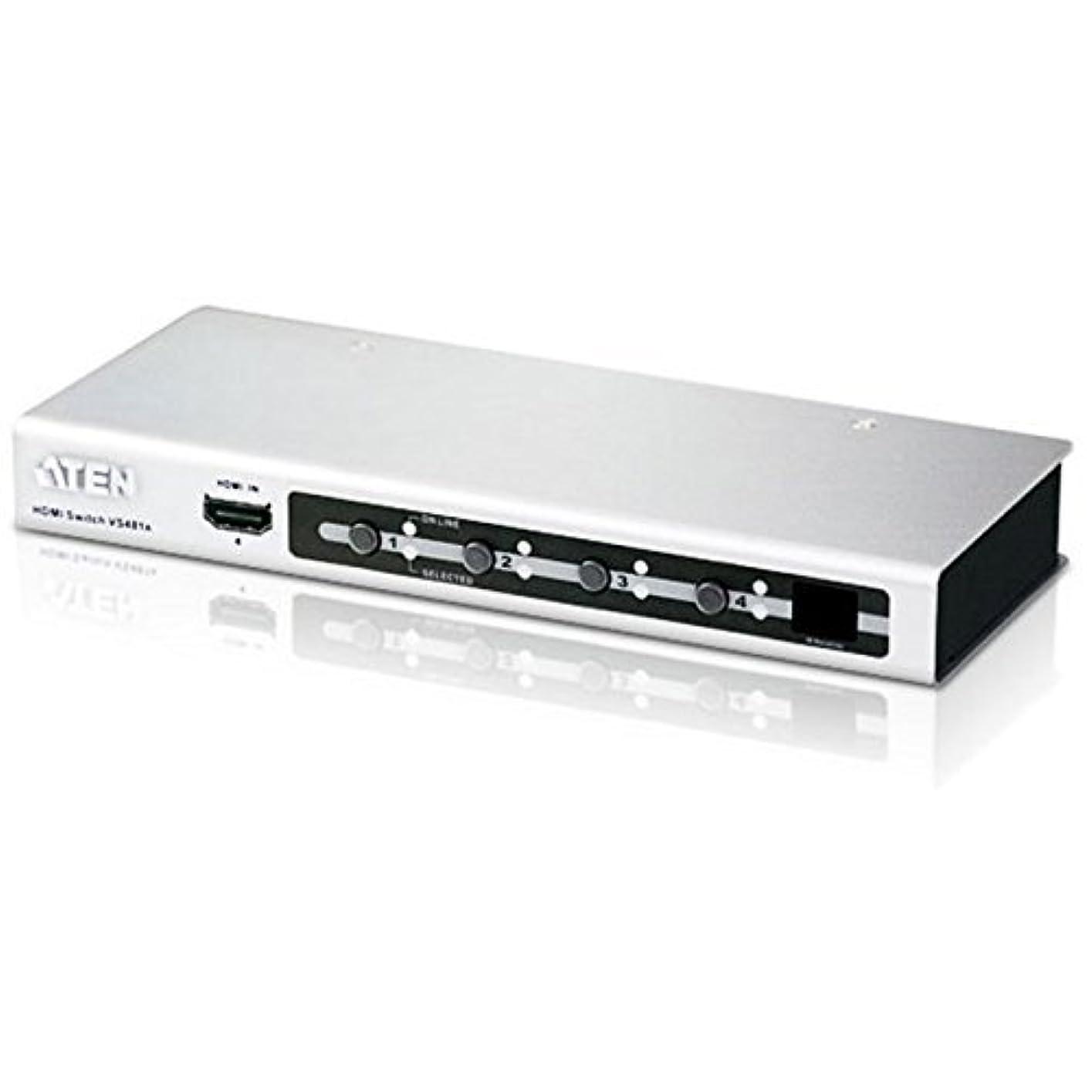 成熟した逆さまに症状4 Port HDMI Switch
