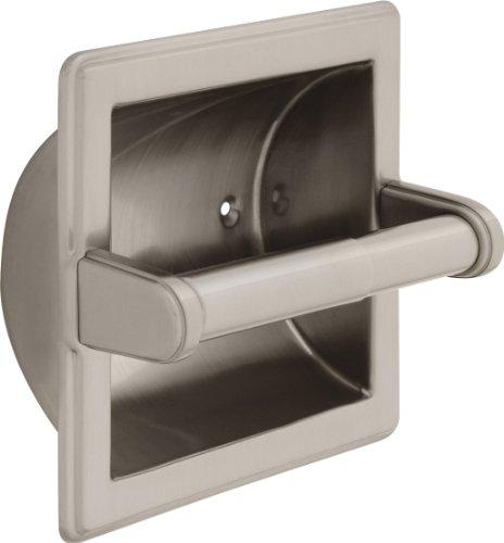 Top 10 best selling list for recessed delta satin nickel toilet paper holder
