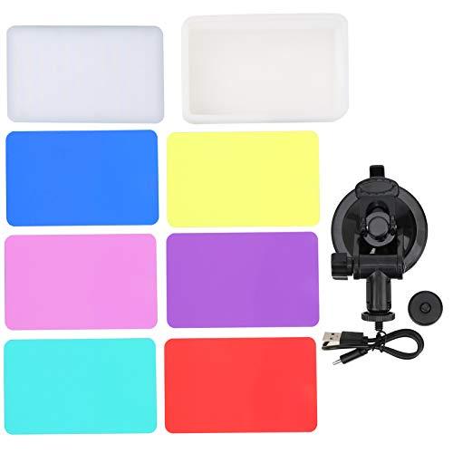 Luz suave para computadora Iluminación para videoconferencia Conveniente carga Juego de combinación de luz de relleno para videoconferencia
