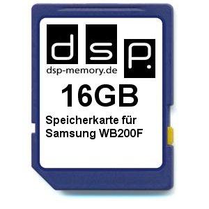 16GB Speicherkarte für Samsung WB200F