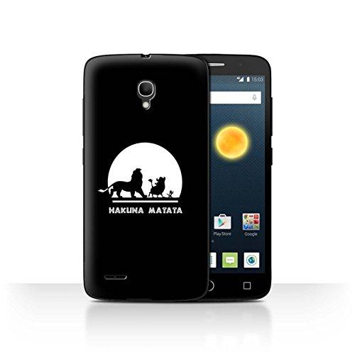Stuff4 Phone Case/Cover/Skin/alc-cc/Cartoon African Animals Collection Hakuna Matata Alcatel Pop 2 (5')