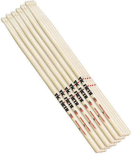 6 Paar Drumstics Vic Firth 5A American Classic Hickory