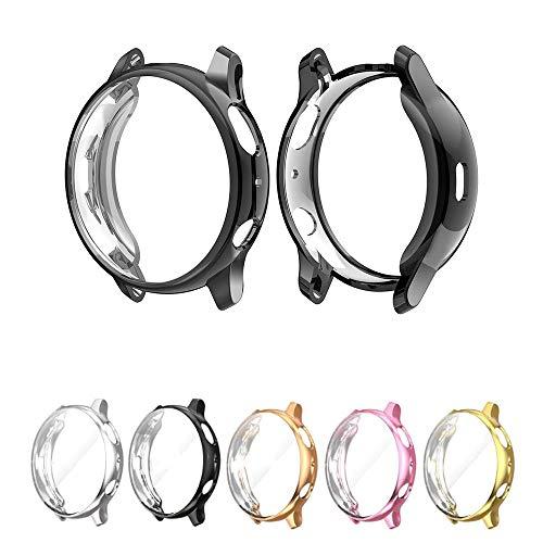 Capa Case para Samsung Galaxy Watch Active 2 44mm SM-R820 e SM-R825 - Marca Ltimports (Preto)