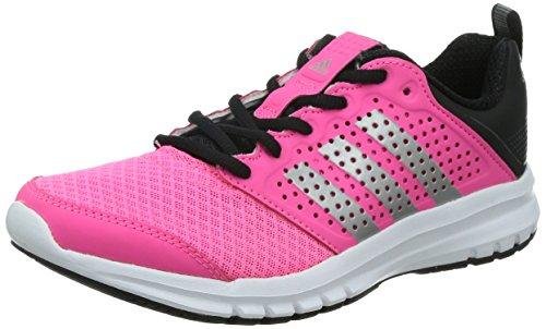 adidas M21576, Zapatillas de Running para Mujer, Rosa/Blanco/Negro/Plata, 40 EU