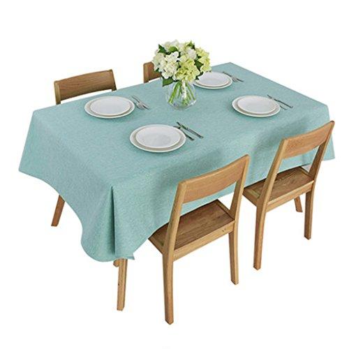 Nappe classique épais couleur unie tissu nappe table café nappe nappe nappe table tapis de table couverture pad serviette simple atmosphère (Size : 140 * 160cm)