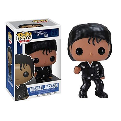 Topstars Funko Rocks: Bad #25 Michael Jackson Pop! Multicolor