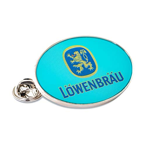 Löwenbräu Original Pin | Oval | türkis | Souvenir | Geschenkidee | Ansteck Pin | Pins