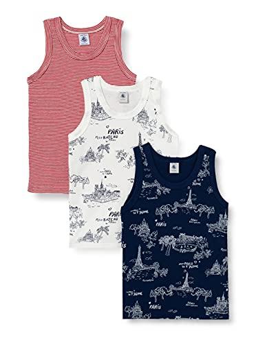 Petit Bateau 5939300 Cami Shirt, Multicolor, 4 Ans Boys