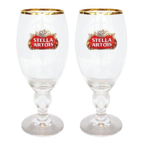 Stella Artois 40-Centiliter Star Chalice, Set of 2