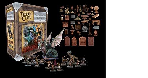 Mantic Games MGTC0102 GM's Dungeon Starter Set 2ª Edición, Colores Variados