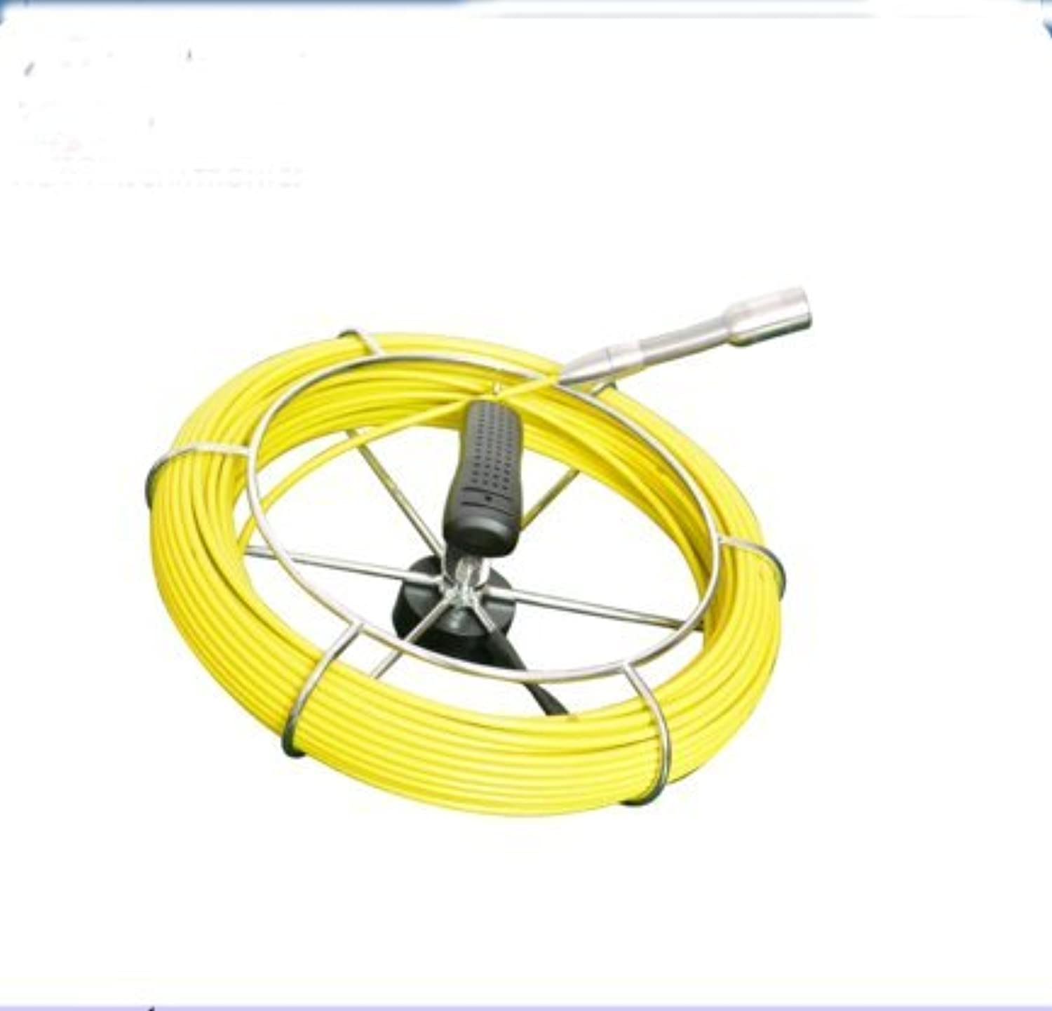KOHSTAR Sewer pipe inspection camera accessories 30m fiberglass push rod cable with waterproof video inspection camera
