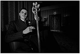 American Horror Story 8 Inch x10 Inch Photo Evan Peters Smoking Left Hand on Cane n