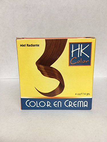 HK Colors Semi Permanent Hair Dye Conditioning Cream, Sunset Copper, 4 oz/114 grs