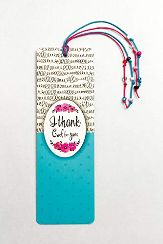 EB-08 Dual Layer Bookmark'I Thank GOD for You'