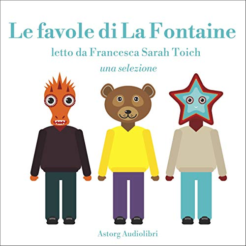 Le favole di La Fontaine, una selezione audiobook cover art
