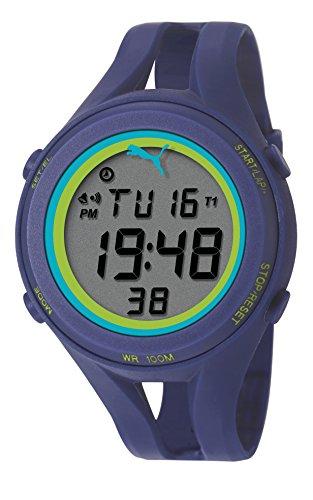 Puma PU911171004 - Reloj Unisex, Correa de Poliuretano Color Azul