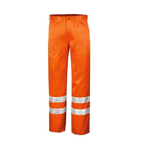 teXXor Warnschutz-Bundhose Quebec Arbeitshose mit Reflexstreifen, größe 46, orange, 4305