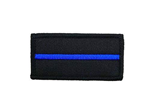 Polizeimemesshop Thin Blue Line Textilpatch