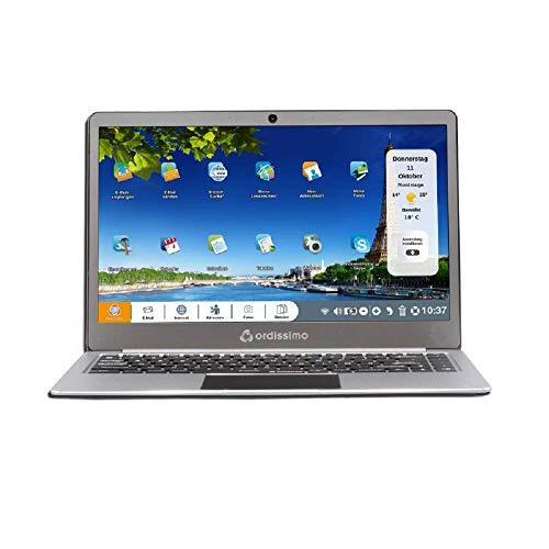 "Ordissimo Laptop Agathe 3 14"" (Intel Celeron N4000 1, GHz, 4GB RAM) Metalloptik ART0371"