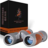 Binoculars for Kids by IRONTREE GEAR - 8x21 HIGH Resolution Shockproof Compact Kids Binocular Set for Boys & Girls - Ideal for Bird Watching Hunting Camping Hiking Theatre & Concerts