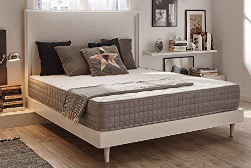 naturalex Detente | Reflex Foam Mattress with 7 Zone Ergonomic Design | 6ft Super King Size 180 x 200 cm | Balanced Comfort with Targeted Support | Certified Materials | 10 Year Warranty