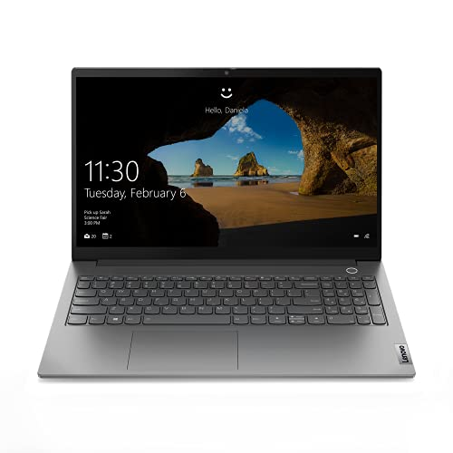Lenovo ThinkBook 15 G2 ITL - Ordenador Portátil 15.6' FullHD (Intel Core i5-1135G7, 8GB RAM, 256GB SSD, Intel Iris Xe Graphics, Windows 10 Pro), Gris - Teclado QWERTY Español